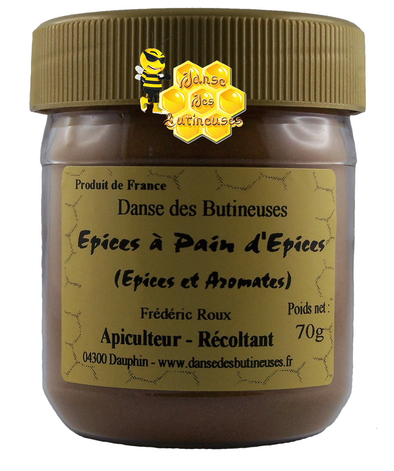 Epices a pain epices 70g 1