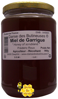 Miel de Garrigue / Produit de France