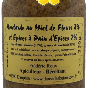 Moutarde epices 350g 2