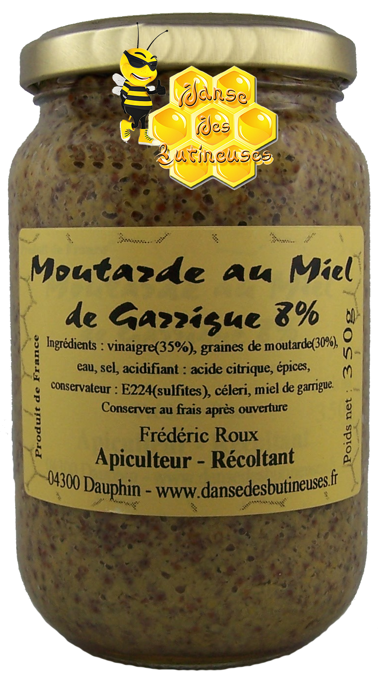 Moutarde garrigue 350g 2